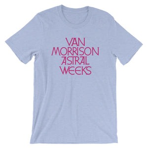 Van Morrison Astral Weeks Short-Sleeve Unisex T-Shirt