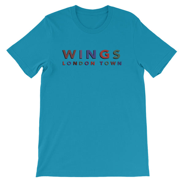 Wings London Town Short-Sleeve Unisex T-Shirt