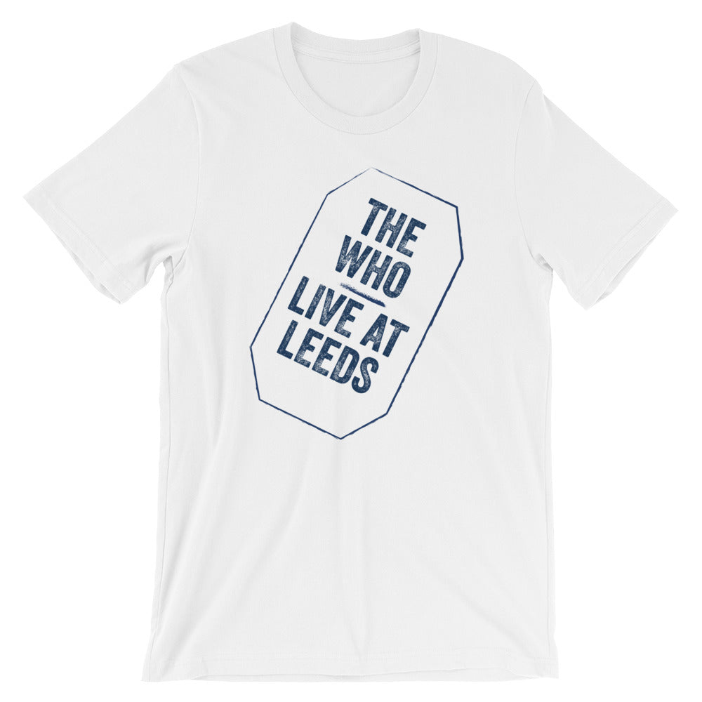 The Who Live At Leeds Short-Sleeve Unisex T-Shirt