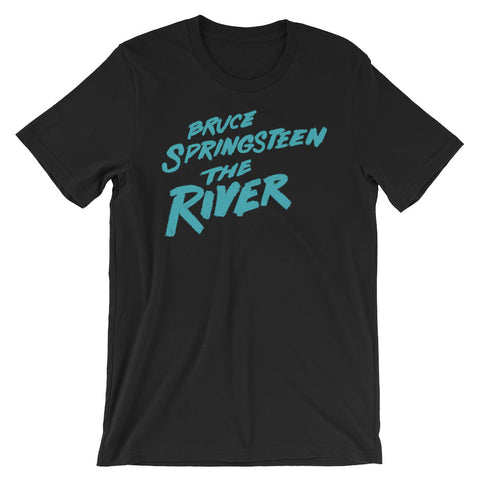 Bruce Springsteen The River Short-Sleeve Unisex T-Shirt