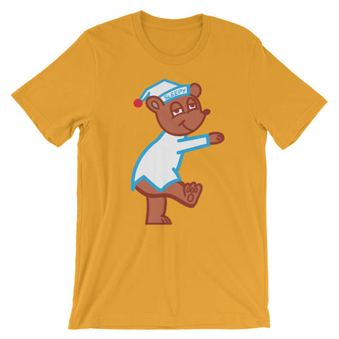 Sleepy Bear Short-Sleeve Unisex T-Shirt