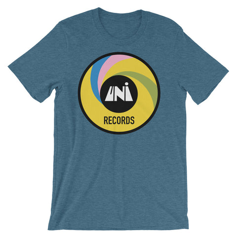 UNI Records Unisex short sleeve t-shirt
