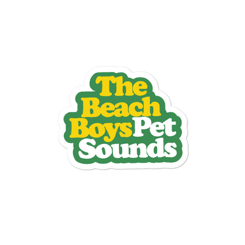 Pet Sounds Bubble-free stickers
