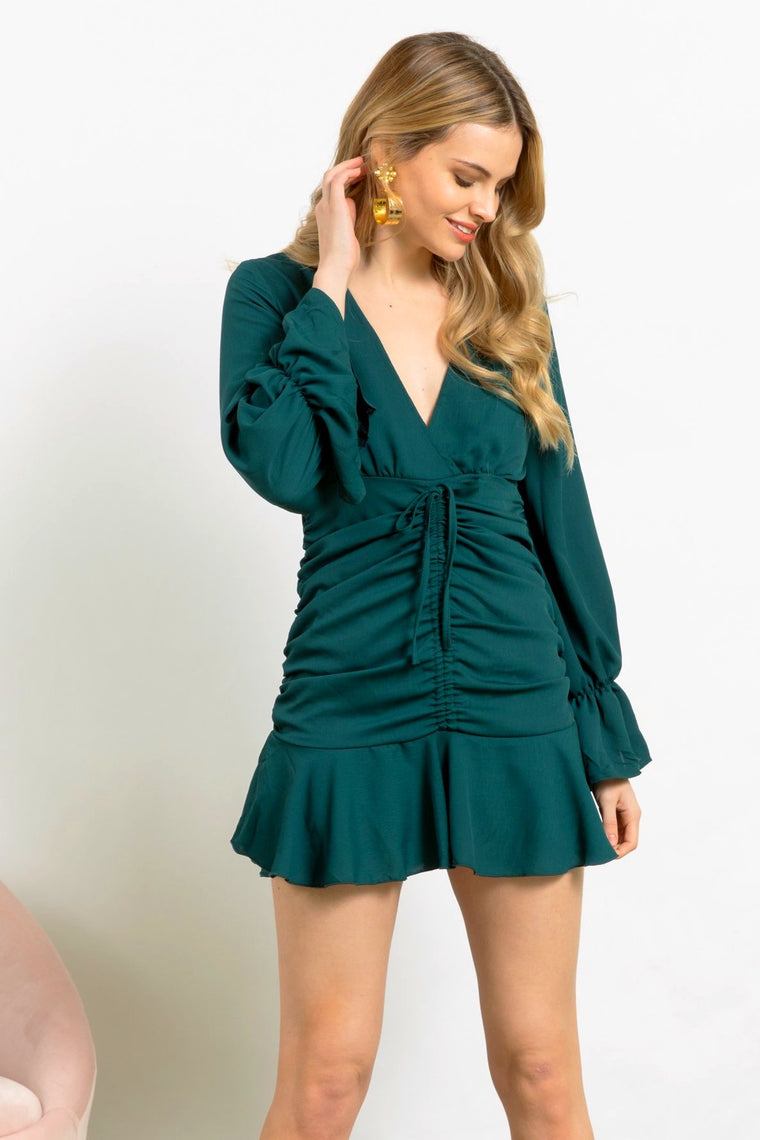 Emerald City Cocktail Dress