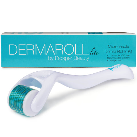 DERMAROLL lite by Prosper Beauty (Microneedle Derma Roller Kit 0.25mm)