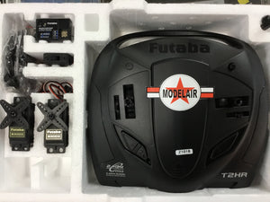 FUTABA 2HRX 2 CHANNEL 2.4GHZ RADIO WITH 2 X 3003 SERVOS