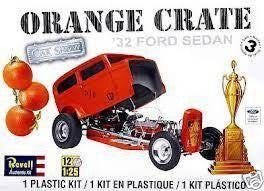 REVELL ORANGE CRATE '32 FORD SEDAN