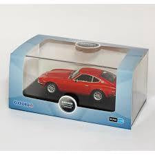 OXFORD 1/43 DIECAST DATSUN 240Z RED