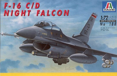 ITALERI 1/72 F16C/D NIGHT FALCON