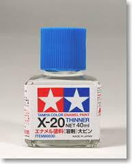 TAMIYA 8030 X20 ENAMEL THINNER (40ML)