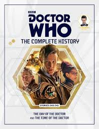 DOCTOR WHO THE COMPLETE HISTORY STORIES 240 & 241