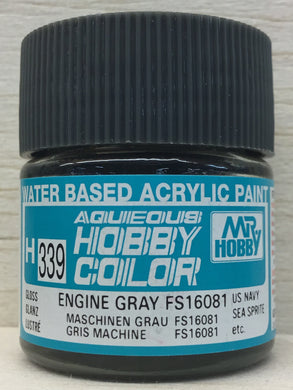 GUNZE MR HOBBY COLOR H339 GLOSS ENGINE GRAY FS16081