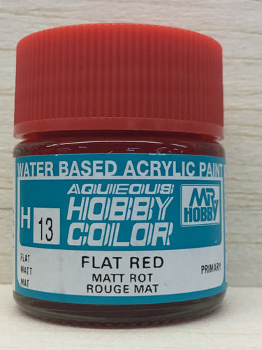 GUNZE HOBBY COLOR H13 FLAT RED