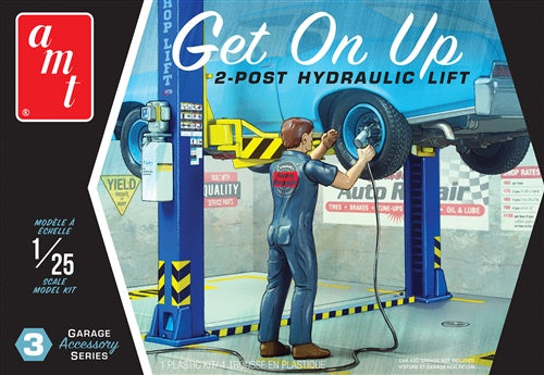AMT 1/25 GET ON UP HYDRAULIC LIFT