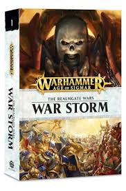 WARHAMMER THE REALMGATE WAR STORM BOOK