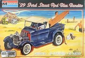 REVELL 1/24 '29 FORD STREET ROD BLUE BANDITO