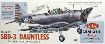 GUILLOWS 1/16 SBD-3 DAUNTLESS