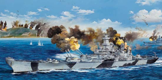 TRUMPETER 1/200 USS IOWA BB-61
