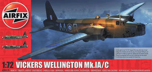 AIRFIX 1/72 VICKERS WELLINGTON MK.1A/C
