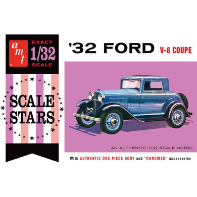 AMT 1/32 '32 FORD V8 COUPE