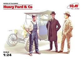 ICM 1/24 HENRY FORD & CO FIGURES