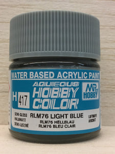 GUNZE MR HOBBY COLOR H417 RLM 76 LIGHT BLUE