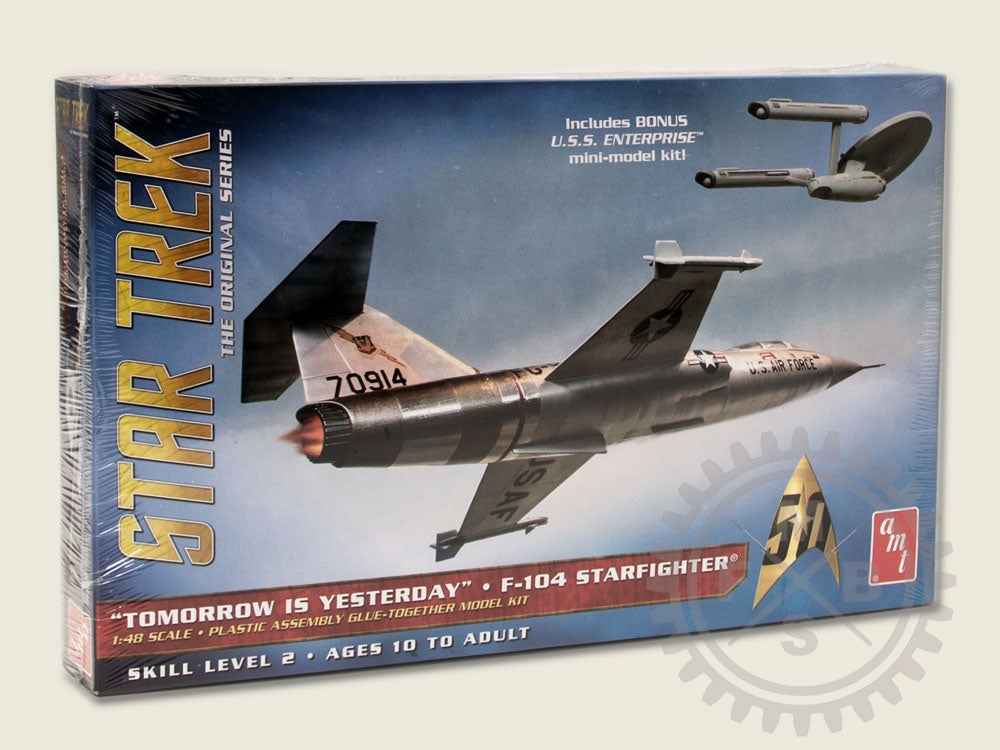 AMT 1/48 STAR TREK F-104 STARFIGHTER