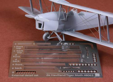 SBS MODEL 1/48 TIGER MOTH PHOTO-ETCHED METAL RIGGING WIRE (for the AIRFIX KIT)