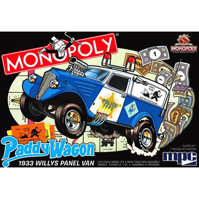 MPC 1/25 WILLYS PANEL MONOPOLY PADDY WAGON
