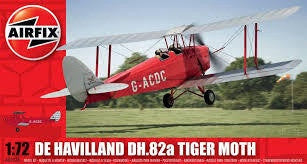 AIRFIX DH 82A TIGER MOTH CIVIL