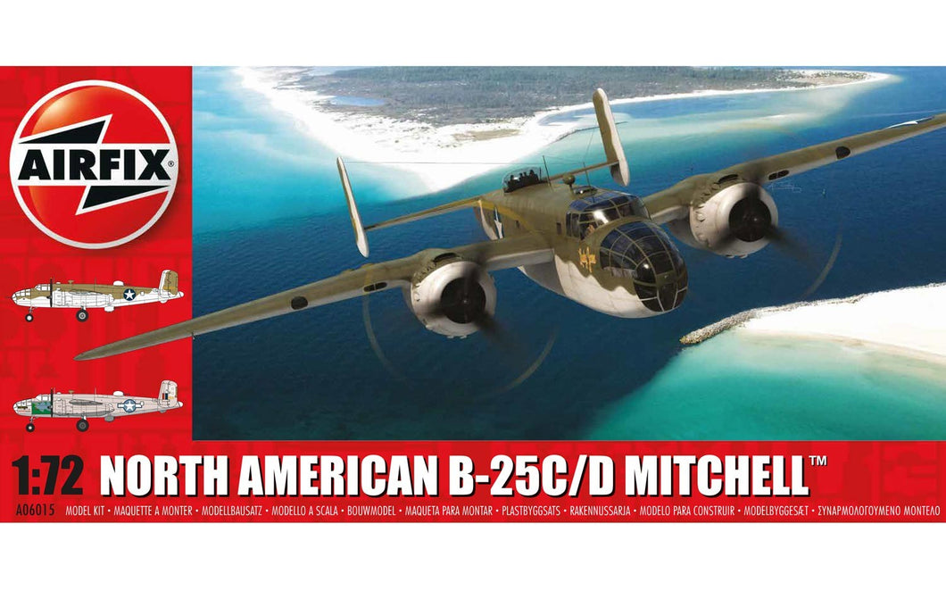 AIRFIX 1/72 NORTH AMERICAN B-25 C/D MITCHELL