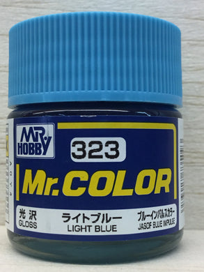 GUNZE MR COLOR C323 GLOSS LIGHT BLUE