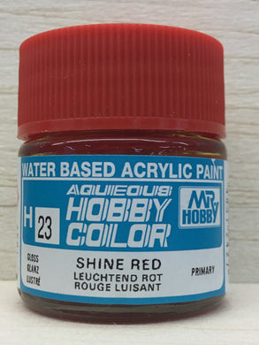 GUNZE MR HOBBY COLOR H23 GLOSS SHINE RED