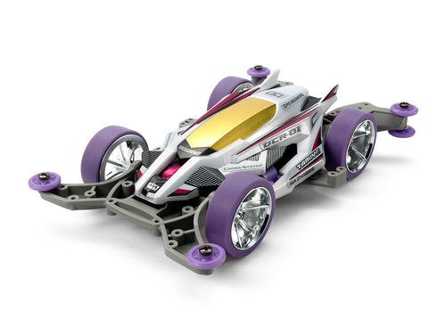 TAMIYA MINI 4WD DCR-01 PURPLE