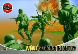 AIRFIX 1/72 WWII GERMAN INFANTRY