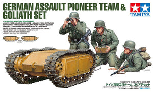TAMIYA 1/35 GERMAN PIONEERS & GOLIATH