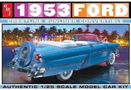 AMT 1/25 '53 FORD CONVERTIBLE