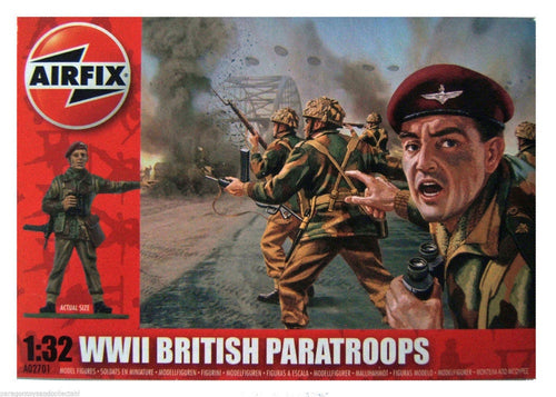 AIRFIX 1/32 BRITISH PARATROOPERS