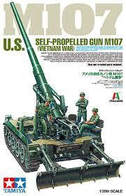 TAMIYA 1/35 M107 US SELF PROPELLED GUN VIETNAM