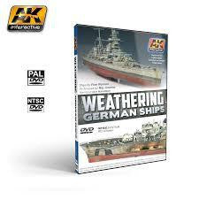 AK DVD WEATHERING GERMAN SHIPS