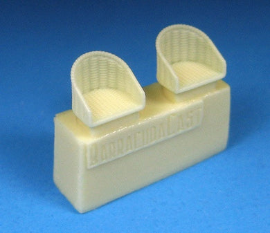 BARRACUDACAST 72257 1/72 BRITISH WW1 WICKER SEATS