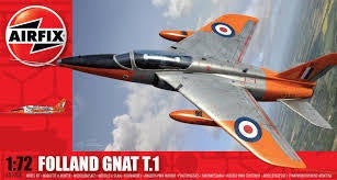 AIRFIX 1/72 FOLLAND GNAT T.1