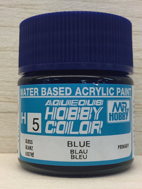 GUNZE MR HOBBY COLOR H5 GLOSS BLUE
