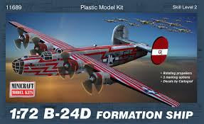 MINICRAFT 1/72 B-24D LIBERATOR FORMATION SHIP