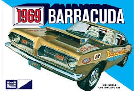 MPC 1/25 '69 PLYMOUTH BARRACUDA
