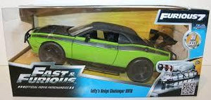FAST & FURIOUS 1/24 DIECAST LETTY'S DODGE CHALLENGER SRT8