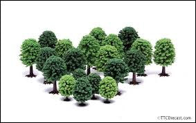 HORNBY HOBBY TREES DECIDUOUS