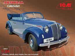 ICM 1/24 ADMIRAL CABRIOLET WW2 GERMAN CAR