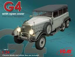 ICM 1/24 G4 WW2 GERMAN PERSONNEL CAR SOFT TOP