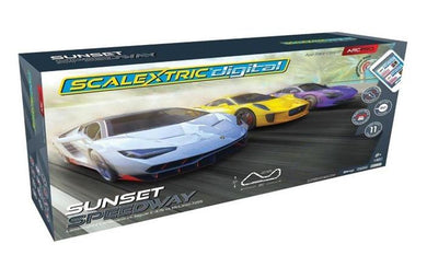 SCALEXTRIC SET PRO SUNSET SPEEDWAY DIGITAL